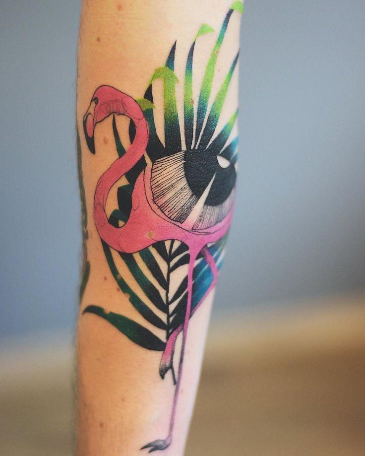 Best Tattoo Designs Images On Pinterest - Polish artist creates elegant animal tattoos finished in vibrant colours
