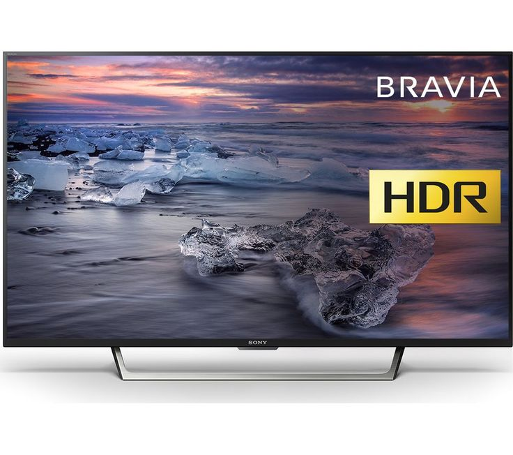"Buy 49""  SONY BRAVIA KDL49WE753BU  Smart LED TV Price: £549.00 Top features: - Full HD picture quality lets your entertainment shine - HDR technology delivers stunning images - Triluminos display for vibrant, more natural colours - X-Reality PRO and Motionflow XR for smoother viewing - Smart TV gives you access to catch-up, YouTube and more Full HDEnjoy crisp, clear picture quality on your..."