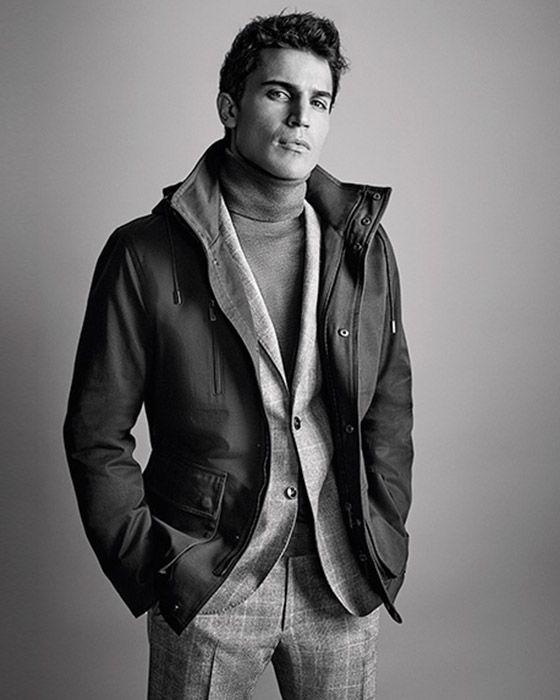 Emidio Tucci colección hombre invierno 2016: jerséis, americanas y camisas