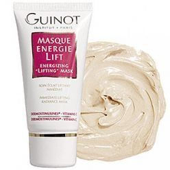 Masque Energie Lift - Energizing Lifting Mask by Guinot - Night Care. $37.87. 50ml/1.7oz. An instant lifting radiance beauty mask Contains exclusive ingredients to boost cellular renewal With vitamin C, helps regain youthful-looking skin Visibly helps tighten your facial contour Greatly relaxes & smoothes out fine lines Suitable for all skin types