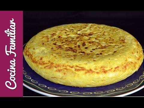 Como hacer una tortilla de patata. Versión especial para alumnos de español en el Reino Unido - YouTube