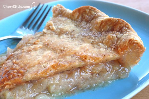 If you're craving old-fashioned apple pie but don't want to tackle the crust, make the filling from scratch and use store-bought pie crust to make it easy!