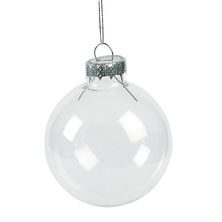 Diy Clear Round Christmas Ornaments Make These Do It