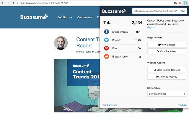 Looking For an Alternative to Buzzsumo Pricing? More Cost