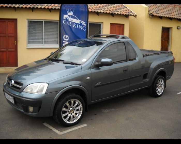 Executive Auto Shippers This is how we Rock. #LGMSports move it with http://LGMSports.com 2006 OPEL CORSA UTILITY 1.4I SPORT PICKUP SINGLECAB