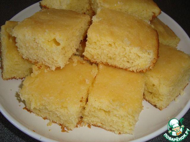 Легкие лимонные пирожные ингредиенты