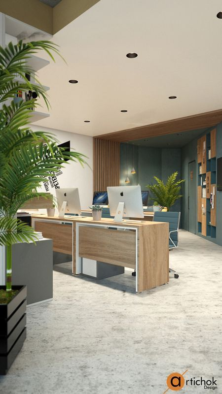Superb Office Design Inspiration. Design Ideas For Small Work Space In Office.  Office Interior In Loft Style Идеи дизайна небольшого офиса. Офис в стиле  лофт.