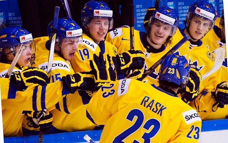Gold medal to Sweden in World Hockey game 2013... Hockey