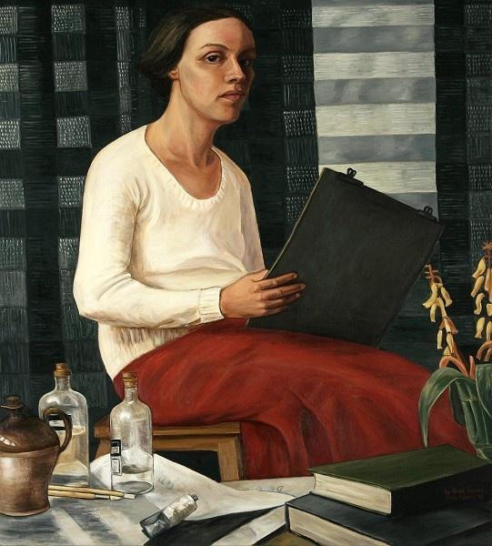 Nora Heysen (22), A Self-Portrait, 1933.
