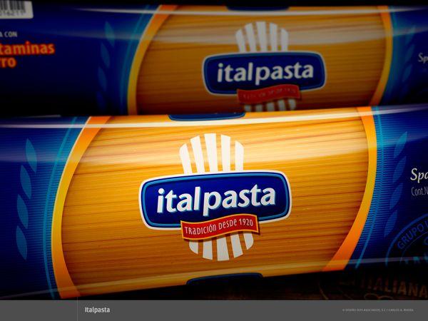 Packaging para Italpasta by Carlos A. Rivera, via Behance