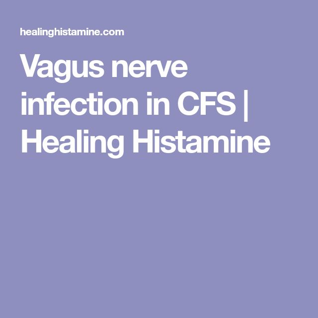 Vagus nerve infection in CFS | Healing Histamine