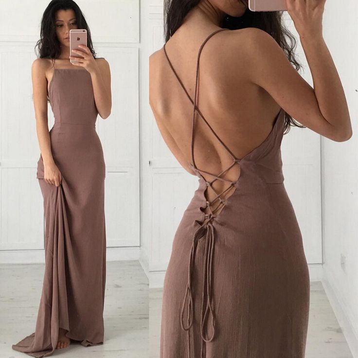 Backless Sexy Prom Dress Party Dresses pst1035