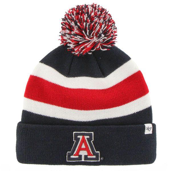 '47 Brand Arizona Wildcats Navy Blue Breakaway Knit Beanie, $19.95 http://shareasale.com/m-pr.cfm?merchantid=45646&userid=646297&productid=593532881&afftrack=