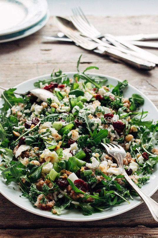 Boekweit salade van Ottolenghi