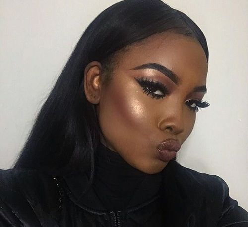 Ntrt Lradуtknx  Dark Skin Makeup, Black Girl -3955