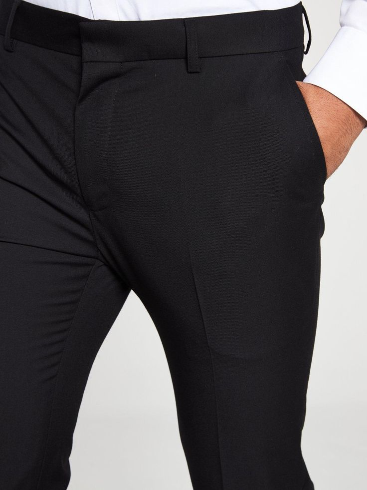 V by Very PV Skinny Trousers – Black