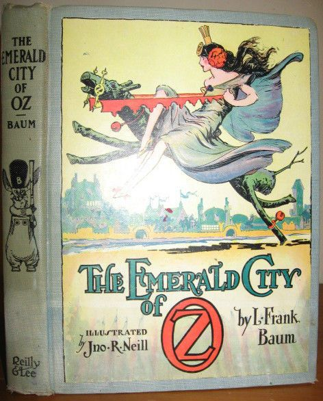 an analysis of the plot in the wizard of oz by l frank baum Dive deep into l frank baum's the wonderful wizard of oz with extended analysis, commentary, and discussion.