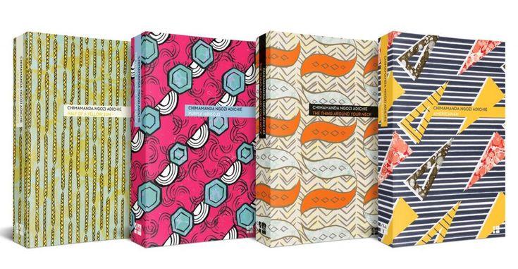 Chimamanda Ngozi Adichie reissues. Half of a Yellow Sun, Purple Hibiscus, The Thing Around Your Neck and Americanah