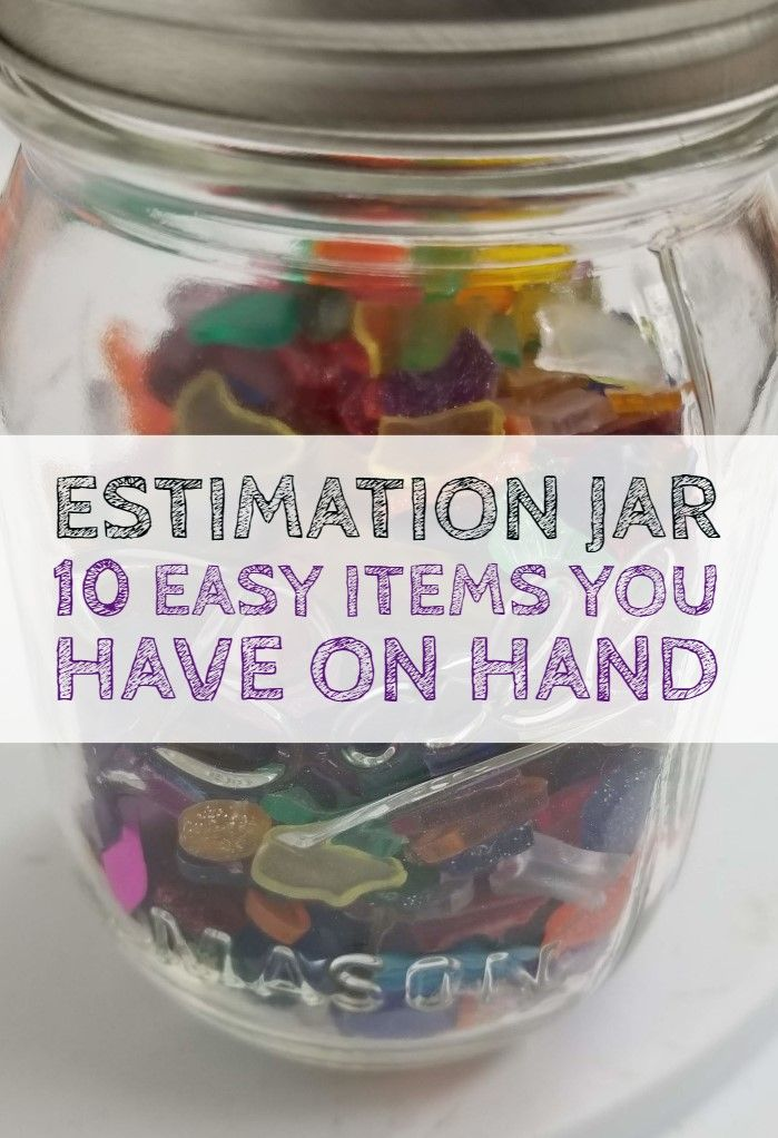 Estimation Jar Ideas That Will Get Kids Thinking That After School Life Afterschool Activities Guessing Jar Critical Thinking Activities