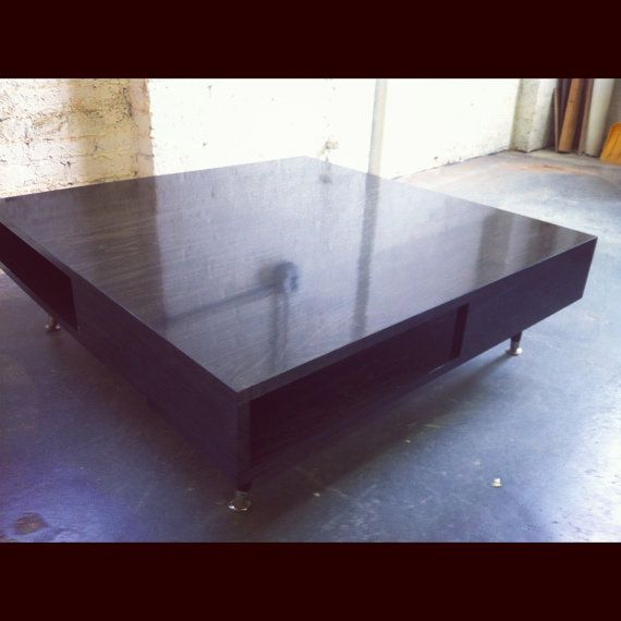 Low Modern Coffee Table: Low Modern Coffee Table By STORnewyork On Etsy, $600.00