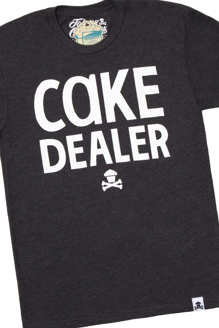 Johnny Cupcakes 'Cake Dealer' T-shirts < can I just say, best baker attire ever