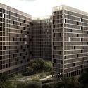 Proyecto Conjunto Habitacional LM de Luis Aldrete / México Courtesy of Luis Aldrete Arquitectos