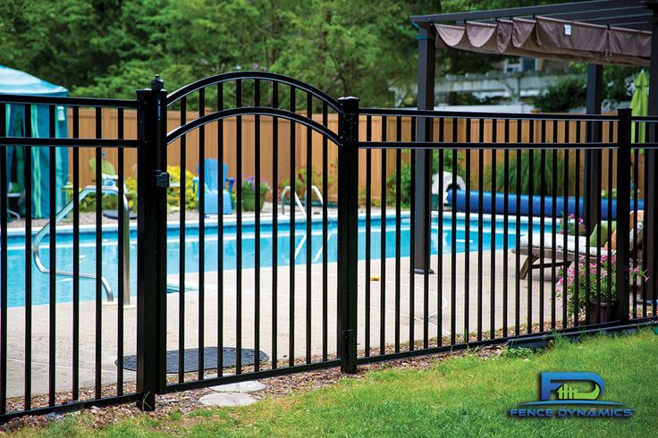 37 Best Aluminum Fence Styles Images On Pinterest