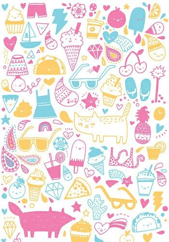 17 Best images about Cute Patterns on Pinterest | Summer ...