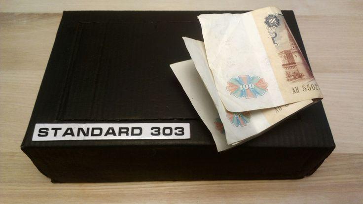 How to make Piggy Bank Safe - Diy mini safe box for kids