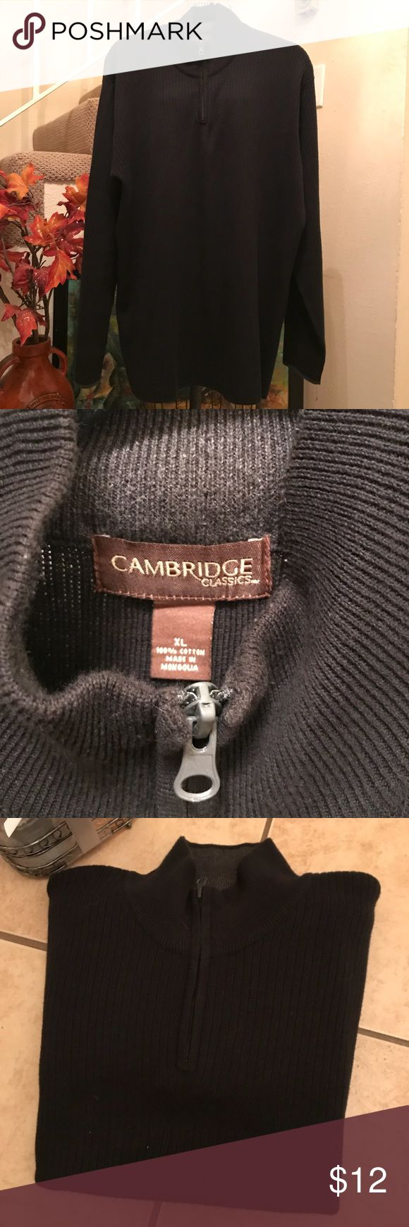 CAMBRIDGE Classics Men's Sweater Size XL CAMBRIDGE Classics Men's Sweater Size XL pre owned in good clean condition no rips holes or stains Cambridge Classics Shirts Sweatshirts & Hoodies