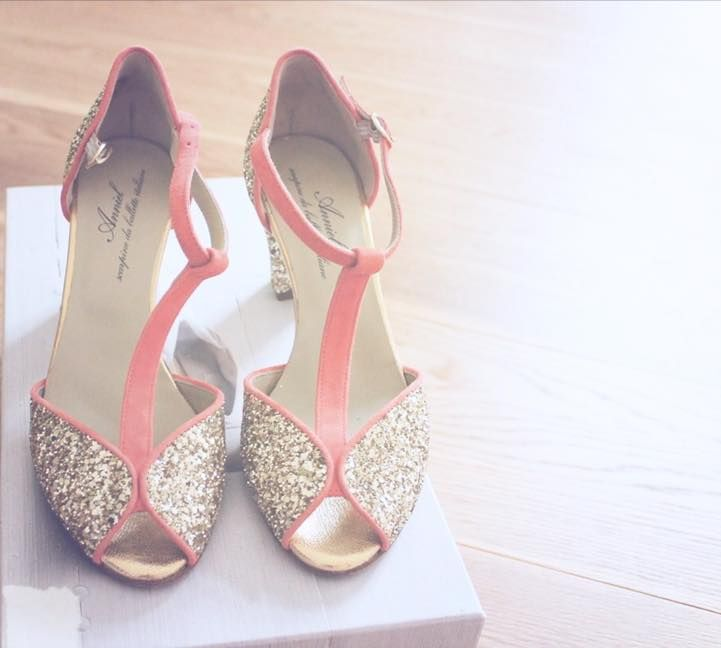 Black glitter sandals Anniel M3GfH