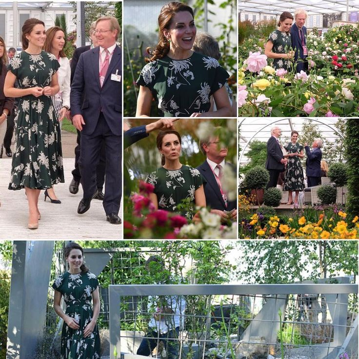 Catherine The Duchess of Cambridge at the Chelsea Flower Show