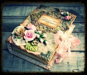 Oud boek pimpen