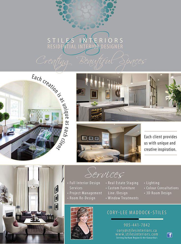 Ad design for Stiles Interiors