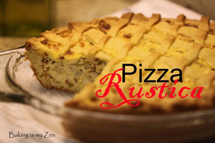 Fifth post with the group, Tuesdays with Dorie: Baking with Julia, and this week's recipe is PIZZA RUSTICA. This recipe is from the book, Baking with Julia, by Dorie Greenspan. The contributing bak...