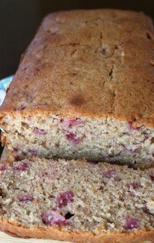 Strawberry Banana Bread #recipe