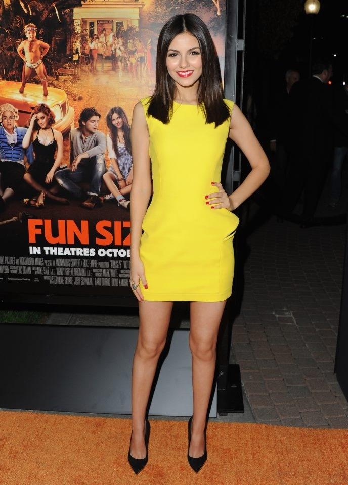 Vesrace's super sexy yellow dress