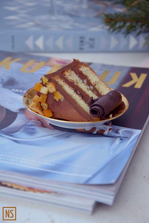 Orange whisky chocolate cake | Nutka Słodyczy