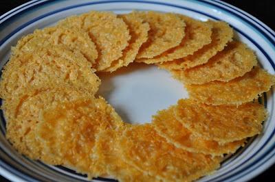 Cheese Crisps | fab food - gluten free! | Pinterest