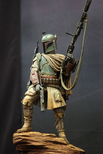 Star Wars Mythos Boba Fett by SideshowCollectibles, via Flickr