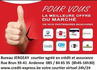 courtier en assurance et crédit hypothécaire andenne Huy Namur Eghezée Bureau Jergeay : Le courtier en crédit : ne signez rien sans l'avoi...