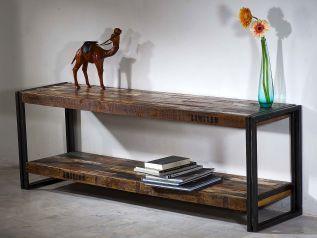 Lowboard Quebec 160cm starožitný nábytek ze dřeva