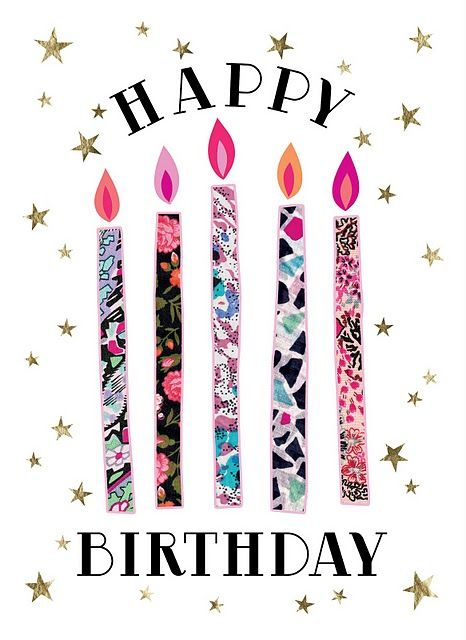'Candle Birthday' card