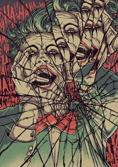 The Joker Shattered Reflections