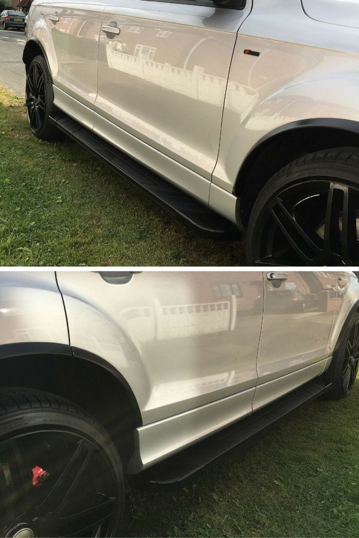 This customer bought our sherpa side steps for his audi q7 and painted them 4x4 accessoriesaudi
