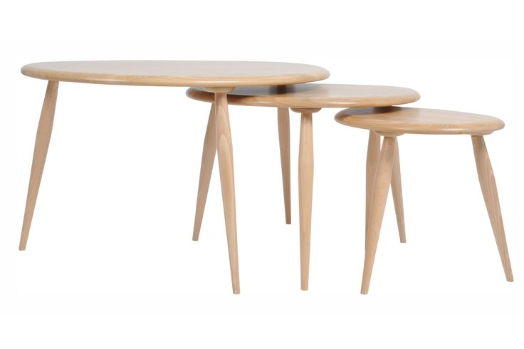 Heal's | Ercol Originals Windsor Nest Of Tables - Side Tables - Occasional Tables - Furniture