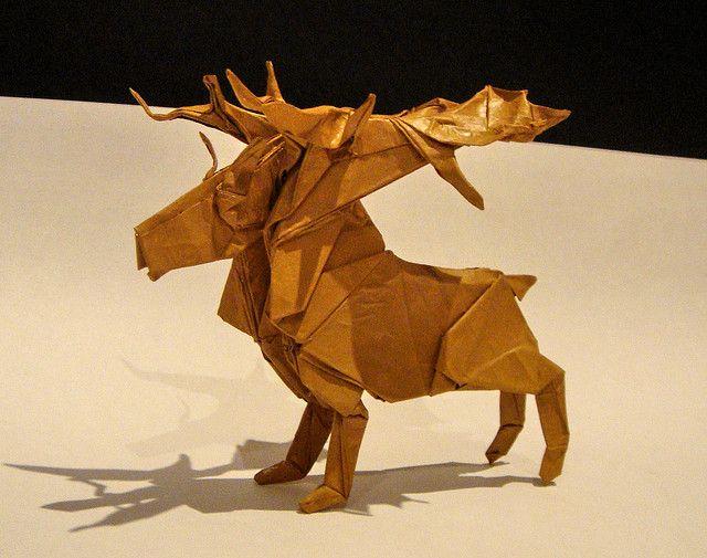 Reindeer. Satoshi Kamiya.