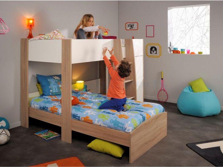 1000 id es sur le th me chambres avec lits superpos s sur pinterest lit sup - Lit avec armoire integree ...