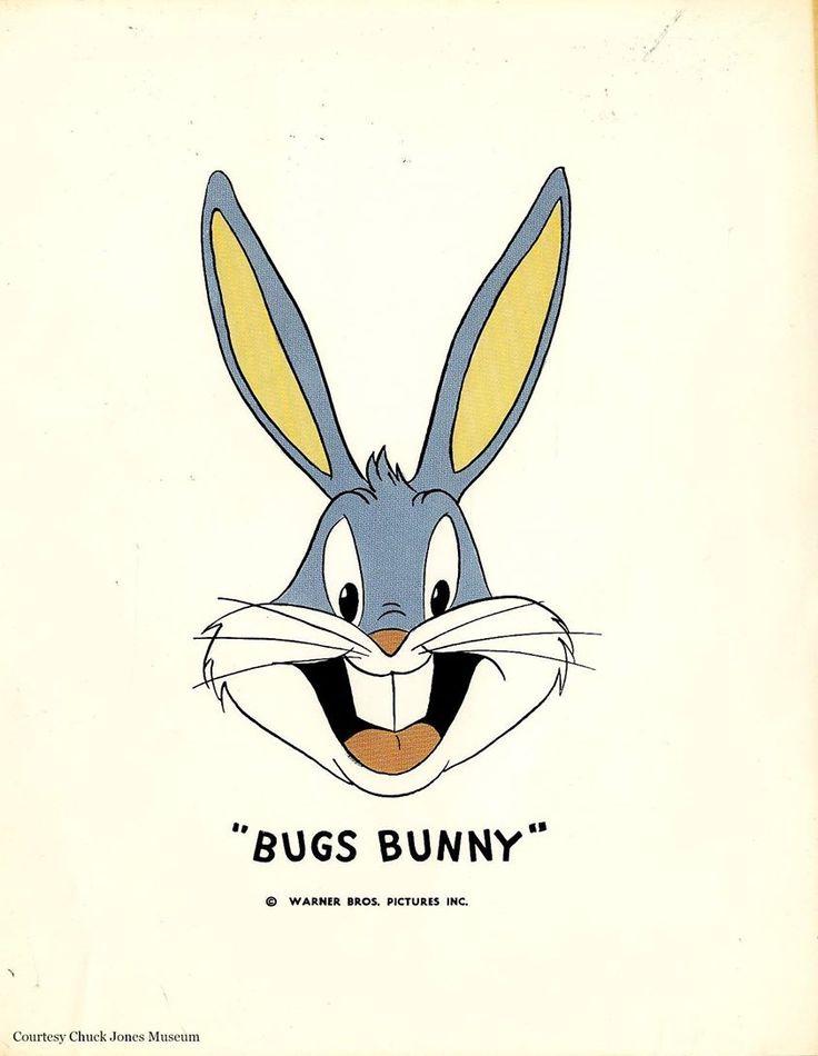 Publicity sheet of Bugs Bunny, circa 1940s