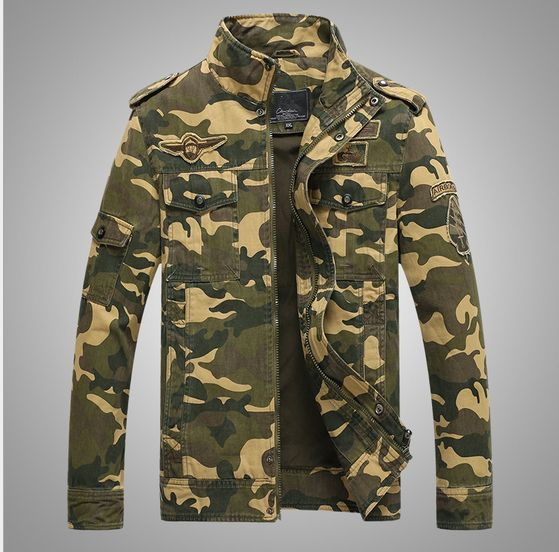 >> Click to Buy << Free shipping Men Camouflage Jackets Out door Army Military coats Tactical bomber jacket Pilot Flight Jackets For Men 040417 #Affiliate